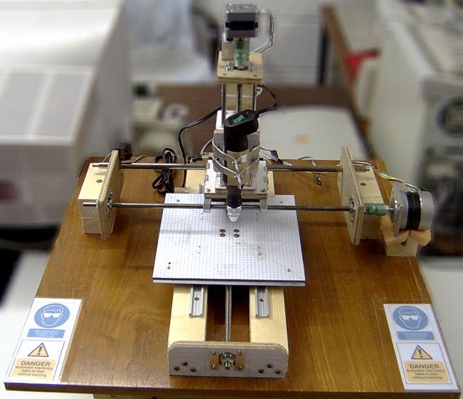 CNC-driller